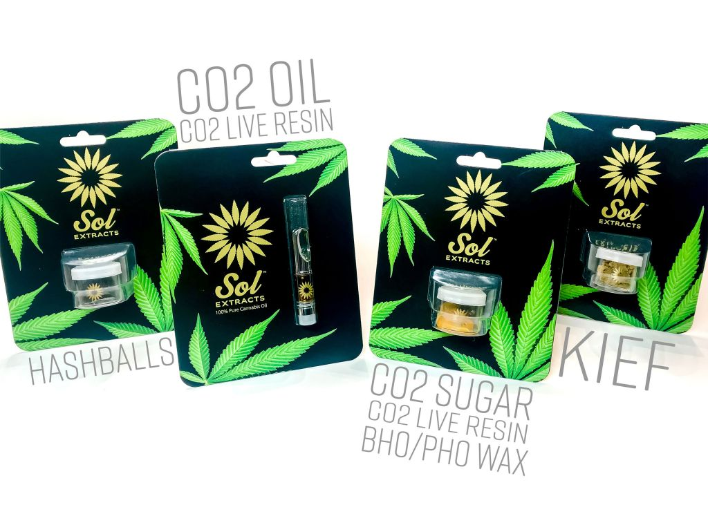 Sol Extracts | Derived from 100% Pure Sungrown Cannabis
